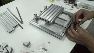 getlinkyoutube.com-LinkSprite DIY CNC 3 Axis Engraver Machine installation tutorial