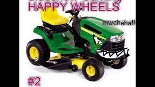 Sideshow Gaming: Happy Wheels episode 2: MY LAWNMOWER KILLED ME!!