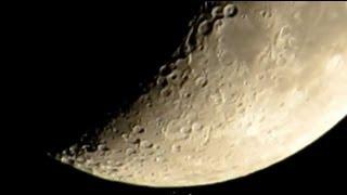 Canon PowerShot SX50 HS Zoom Test Moon HD