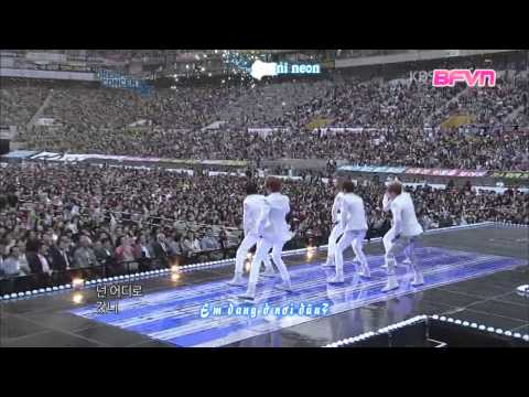 [BFVN][Vietsub+ Kara][120512- Dream concert] Boyfriend- I'll be there+ intro+ T.O.P