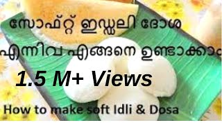 getlinkyoutube.com-ഇഡ്ഡലി ദോശ എന്നിവ സോഫ്റ്റ് ആകാന്  ചെയ്യേണ്ട മാര്ഗങ്ങള്..How to make soft Idli & Dosa/No.95