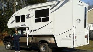getlinkyoutube.com-2012 Chalet DS116RB Truck Camper Upgrades