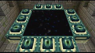 getlinkyoutube.com-Minecraft: how to make a portal to ender dragon - (minecraft portal to ender dragon)