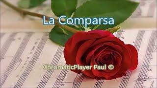 getlinkyoutube.com-La Comparsa  -  keyboard Tyros (chromatic) by Paul