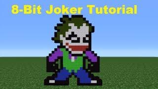getlinkyoutube.com-Minecraft 360: How To Make The Joker *Remake*