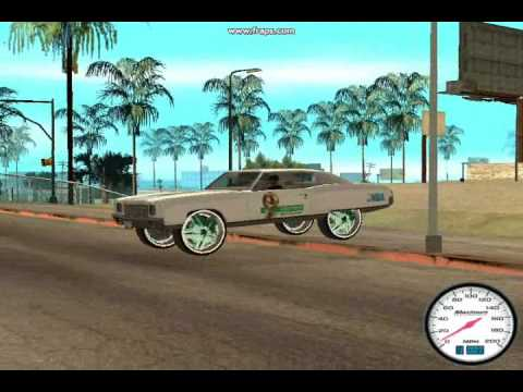 GTA SAN ANDREAS CHEVY DONK MOD PART 8