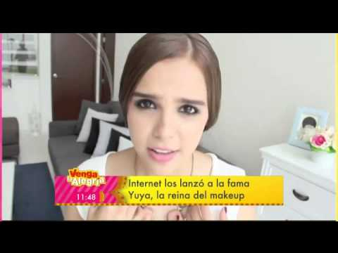 Yuya la reina del make up HD (reportaje Venga la Alegria)