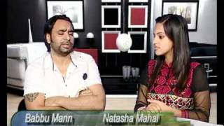 getlinkyoutube.com-Babbu Mann Interview With Natasha Mahal On Vision Of Punjab punjabi latest