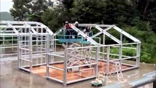 getlinkyoutube.com-Prefabricated Building Systems|Container House|CARAVANES