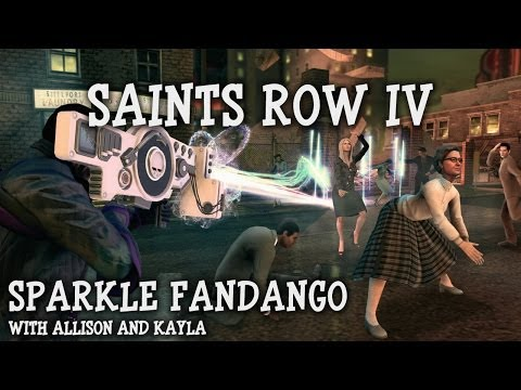 Sparkle Fandango Episode 26 - Let's Play Saints Row IV