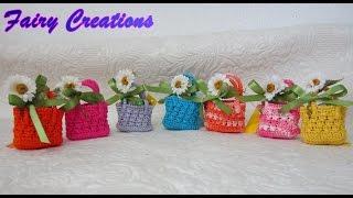 getlinkyoutube.com-tutorial,come realizzare una mini borsetta #3. -borsette primavera-