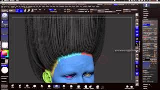 getlinkyoutube.com-Fibermesh : Zbrush to Maya, Efficient Workflow Pt1 /// ZBRUSH