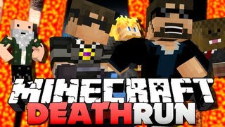 getlinkyoutube.com-Minecraft DEATH RUN!! LAVA HURTS!! (SkyDoesMinecraft, Jerome and Friends)