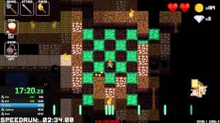 getlinkyoutube.com-Crypt of the Necrodancer: 5 Character Speedrun WR  31:54!