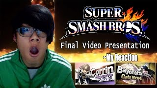 getlinkyoutube.com-My Reaction to the Final Super Smash Bros. Nintendo Direct (Corrin/Bayonetta/Cloud)