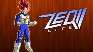 ZEQ2 lite Vegeta God (normal form to ssj4God) [Pre-Release1]+ download link