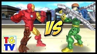 getlinkyoutube.com-Marvel Super Hero Mashers Iron Man | Mix + Smash