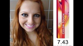 getlinkyoutube.com-RUIVO - Color touch - Vibrant reds - 7.43 - Wella