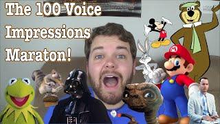 getlinkyoutube.com-The 100 Voice Impressions Marathon