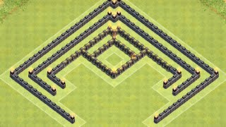 getlinkyoutube.com-*Clash Of Clans* Town Hall 7 Anti 3 Star Trophy Base (Anti Air)