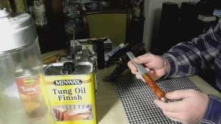 getlinkyoutube.com-Вакуумная пропитка рукояток ножей.
