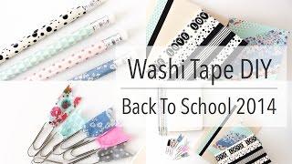 getlinkyoutube.com-Washi Tape DIY | Back To School 2014!