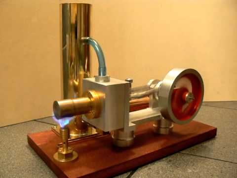 Gamma stirling engine-water cooled