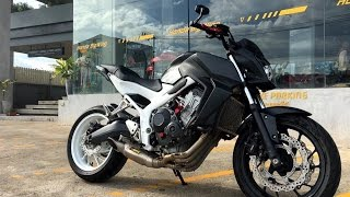"getlinkyoutube.com-Honda CB 650 F ""2016"" with Akrapovic Racing Line (Titanium) S-H6R12-HAFT"