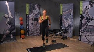 getlinkyoutube.com-Aerobic exercise blast: Samantha Clayton's best cardio workout   Herbalife Workout