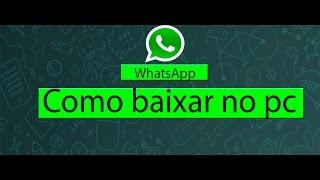 getlinkyoutube.com-Como baixar whatsapp no pc