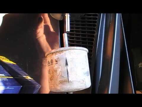 Замена топливного фильтра на форд мондео