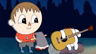getlinkyoutube.com-THE VILLAGER - Animal Crossing Parody