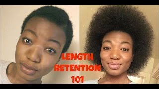 getlinkyoutube.com-Natural Hair| TWA| Length Retention 101 (MUST WATCH)