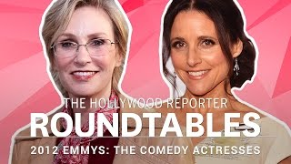 getlinkyoutube.com-Julia Louis-Dreyfus, Jane Lynch and More Comedy Actresses on THR's Roundtable | Emmys 2012