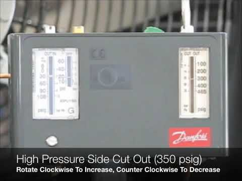 Adjusting A Danfoss Dual Pressure Control & Reset High Pressure Cut Out