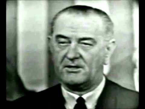 President Lyndon B. Johnson - We Shall Overcome