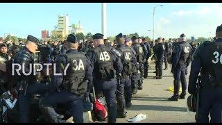 getlinkyoutube.com-LIVE from Calais refugee camp as dismantling order issued
