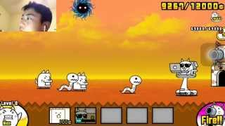 getlinkyoutube.com-Battle Cats Intro: Nerd cat / Hacker Cat
