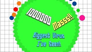 getlinkyoutube.com-Agar.io Solo 1000000 Mass (1 Million!) Ep 11