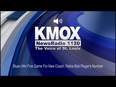 Blues Win First Game For New Coach, Retire Bob Plager's Number (Audio)