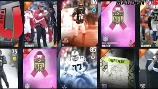 getlinkyoutube.com-UNBELIEVABLE LEGEND PLAYER PULL! - Madden 16 Ultimate Team Gameplay