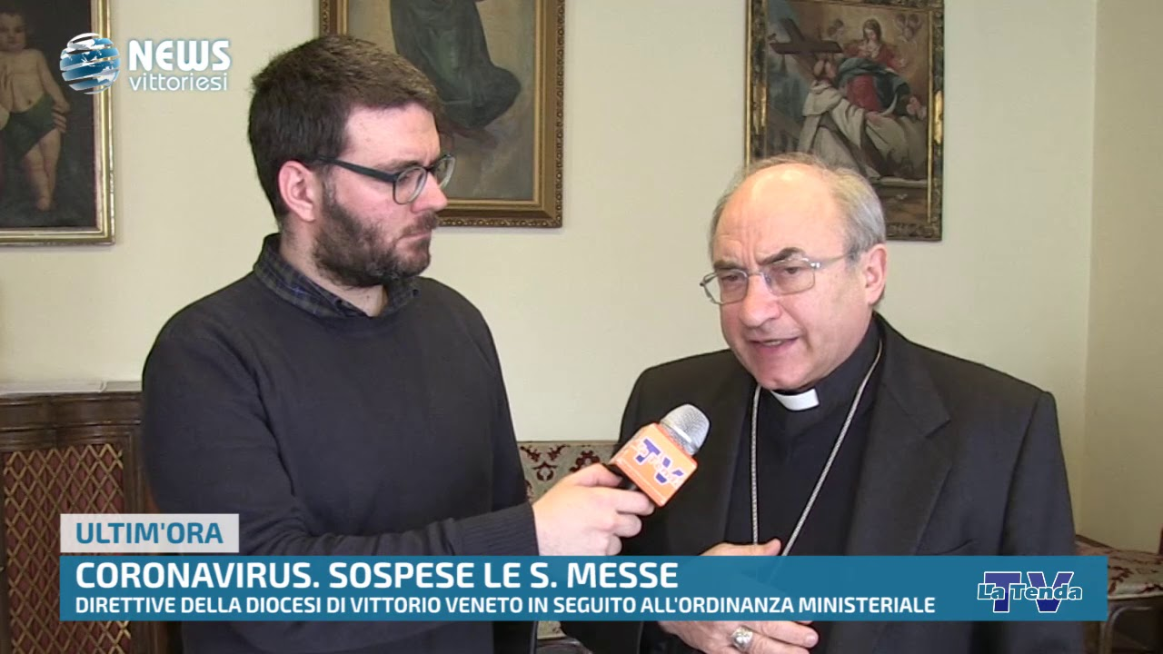 News vittoriesi - Coronavirus: sospese le S. Messe in diocesi