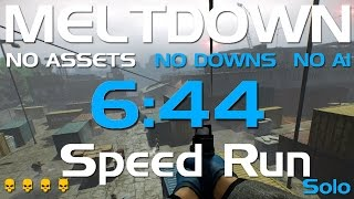getlinkyoutube.com-Payday 2 - Meltdown - DW Solo Speedrun 6:44 GT(60-135FPS)