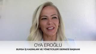 BUiKAD Başkanı Oya Eroğlu, Kadınları Destekleyen Projeleri Anlattı