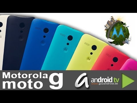 Moto G Gemacht für Jedermann - First touch & view by android tv [GER]