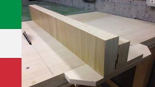 getlinkyoutube.com-Making a Homemade Tablesaw: the Fence II