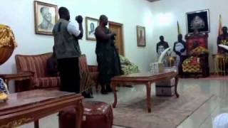 Sammy Kuffour invite OTUMFUO OSEI TUTU II