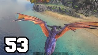 getlinkyoutube.com-DRAGON VS GIGANOTOSAURUS | ARK: Survival Evolved #53 Con Mods