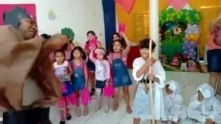 getlinkyoutube.com-Coreografia do dia das crianças - Davi o menino guerreiro