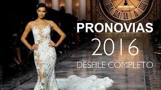 getlinkyoutube.com-Desfile Pronovias 2016 Completo (con Irina Shayk)